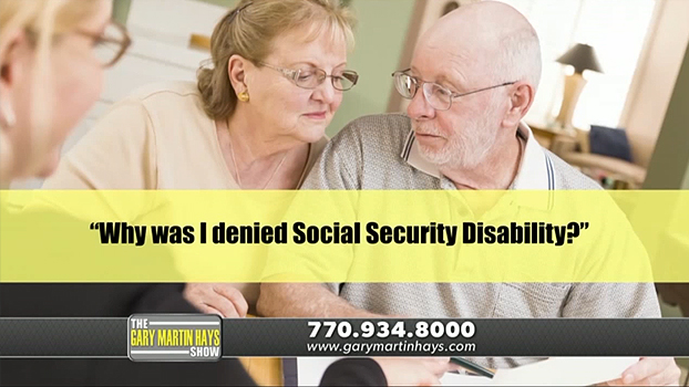 Why was I denied Social Security Disability?